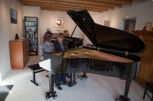 pianoduo Ellen Dijkhuizen en Ties Molenhuis