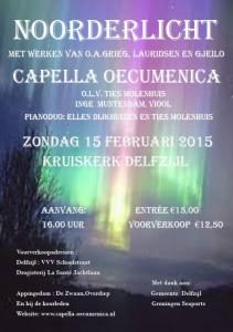 Concert 15 februari 2015