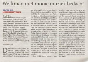 recensie Dagblad van het Noorden