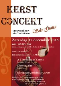 Kerstconcert Sola Gratia 2015